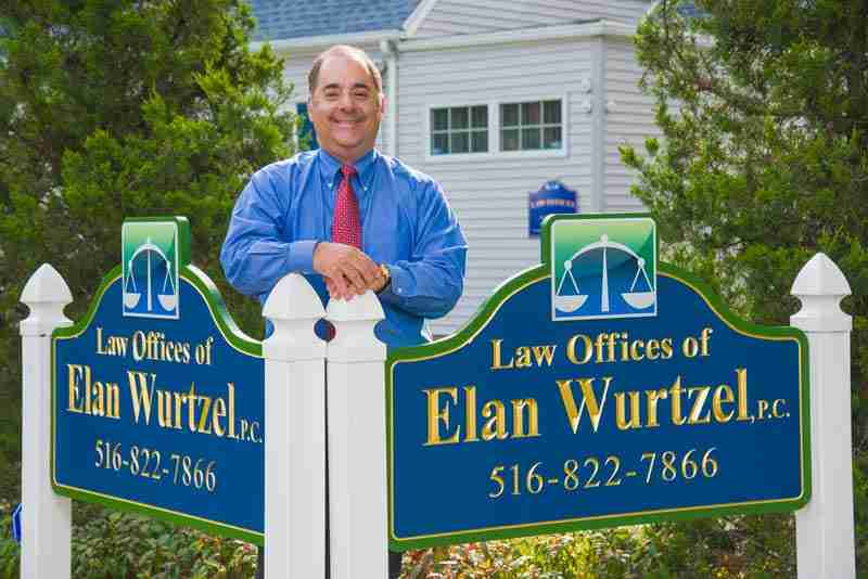 Elan Wurtzel Outside Long Island Personal Injury Attorney